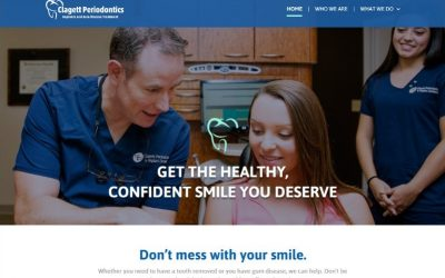 Feature Web Design – Clagett Periodontics